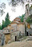 Peribleptos Monastery, at the byzantine fortress of Mystras Stock Photo