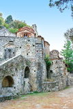 Peribleptos Monastery, at the medieval  fortress of Mystras Stock Image