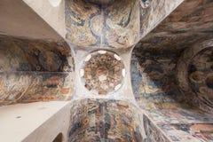 Peribletos Byzantine Monastery Mystras Frescoes Royalty Free Stock Photo