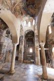 Peribletos Byzantine Monastery Mystras Frescoes Royalty Free Stock Image