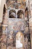 Peribletos Byzantine Monastery Mystras Frescoes Royalty Free Stock Images