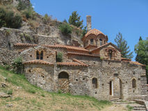Peribletos Byzantine Monastery Mystras Stock Photo