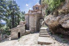 Peribletos Byzantine Monastery Mystras Stock Photo
