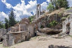 Peribletos Byzantine Monastery Mystras Royalty Free Stock Photos