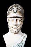 Pericles было государственным деятелем, оратором и генералом древнегреческия Athe Стоковое Фото