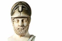Pericles было государственным деятелем, оратором и генералом древнегреческия Athe Стоковое фото RF