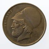 Pericles, arranque de cinta del griego clásico y estadista, en 2 Fotografía de archivo libre de regalías