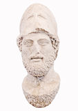Pericles of Athens. Bust of the greek statesman Pericles isolated on white New museum of Acropolis in Athens Greece Royalty Free Stock Image