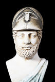Pericles was Ancient Greek statesman, orator and general of Athe Stock Photo