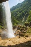 Pericnik瀑布,斯洛文尼亚 库存照片