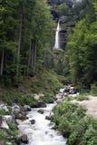 Pericnik vattenfall Fotografering för Bildbyråer