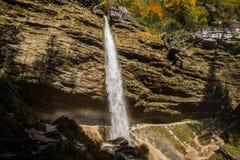 Pericnik-Wasserfall Lizenzfreies Stockbild