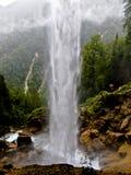 Pericnik-Wasserfall in Slowenien Lizenzfreie Stockfotografie