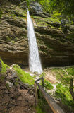 Pericnik waterfall, Slovenia Royalty Free Stock Photos