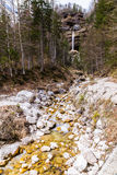 Pericnik Waterfall From Vrata Valley-Slovenia Royalty Free Stock Image