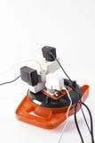 Pericoloso elettrico Fotografie Stock