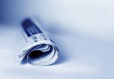 Periódico Imágenes de archivo libres de regalías