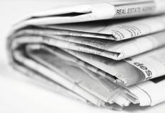 Periódico Fotos de archivo
