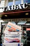 Periódico de las revistas de Major International sobre el resultado de Brexit Fotografía de archivo libre de regalías