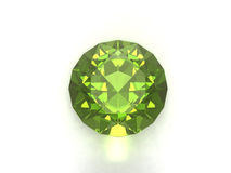 Peridot or chysolite gemstone Royalty Free Stock Images