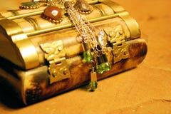 Peridot jewelry. Bellydance jewels Royalty Free Stock Photo