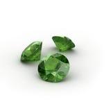 Peridot verde Imagem de Stock
