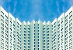 Periferia degli hotel di sconto Fotografia Stock