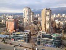 Periferia di Sofia, Bulgaria Fotografia Stock