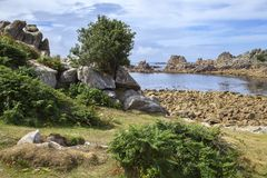Periglis, St Agnes, Isles of Scilly, England Stock Photos