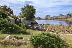 Periglis, St Agnes, wyspy Scilly, Anglia Zdjęcia Stock