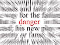 Perigo!! Fotografia de Stock