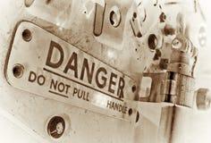 Perigo Fotografia de Stock