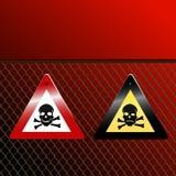Perigo! Imagens de Stock Royalty Free