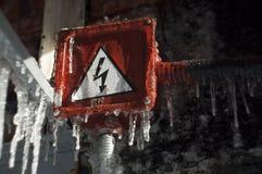 Perigo Imagens de Stock Royalty Free