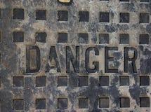 Perigo Imagens de Stock