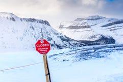 Perigo da avalancha Imagem de Stock Royalty Free