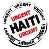 Perigo de Haiti ilustração stock