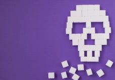Perigo do crânio do açúcar Imagem de Stock Royalty Free