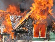 Perigo do incêndio Imagens de Stock