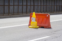 Perigo na estrada Fotos de Stock