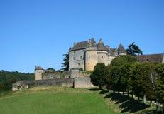 perigord Франции fenelon замока средневековое Стоковые Изображения RF
