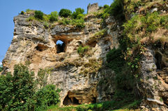 Perigord, caves in the village of Cuzorn in Lor et Garonne Royalty Free Stock Images