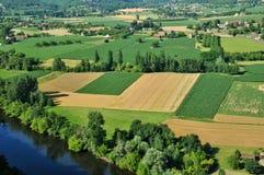 Perigord, Dordogne valley in Castelnaud la Chapelle Royalty Free Stock Photo