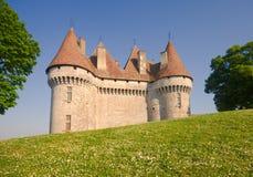 perigord för monbazillac för chateaude france Arkivbild
