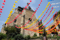 Perigord, a igreja de Jacques de Saint de Bergerac em Dordogne Fotos de Stock