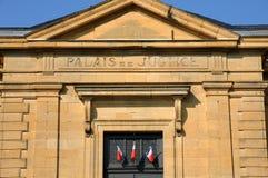 Perigord, law court of Sarlat la Caneda in Dordogne Stock Photos