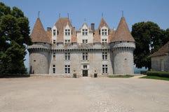 Perigord, le château pittoresque de Monbazillac dans Dordogne images stock