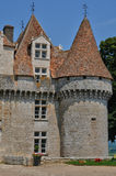 Perigord, the picturesque castle of Monbazillac in Dordogne Royalty Free Stock Photography