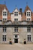 Perigord, the picturesque castle of Monbazillac in Dordogne Stock Photography