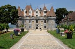 Perigord, the picturesque castle of Monbazillac in Dordogne Stock Photos